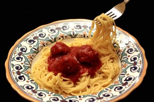 Gluten Free Spaghetti and Meatballs