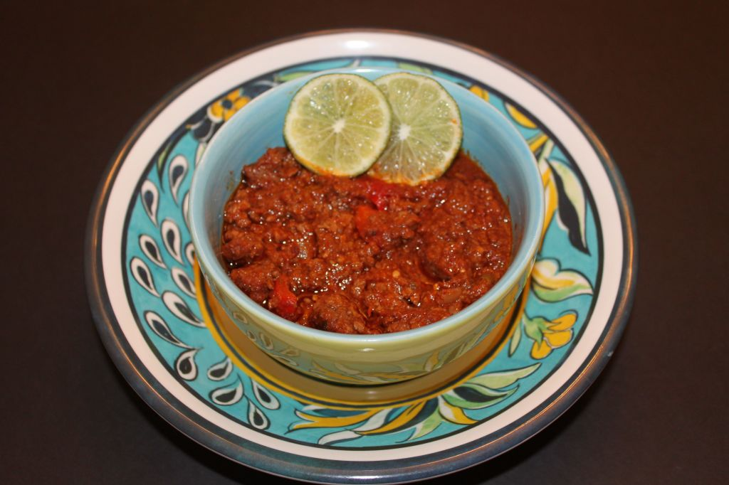 Gluten Free Ground Beef Chili