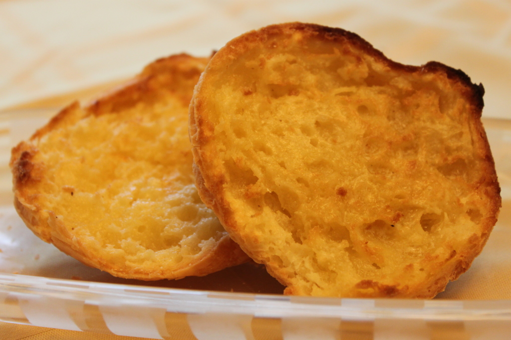 gluten free quick garlic bread