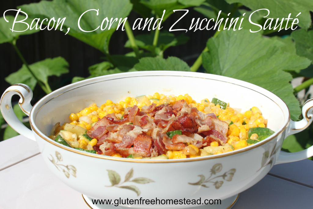 Bacon-Corn-and-Zucchini saute