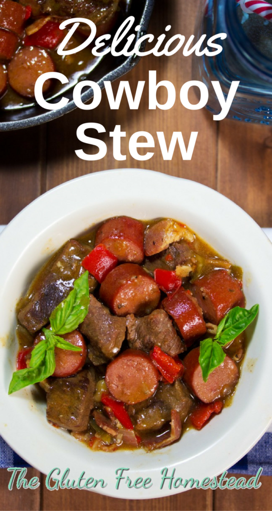 The best hearty beef stew   stew with bacon and hot dogs or sausage   Delicious gluten free recipe