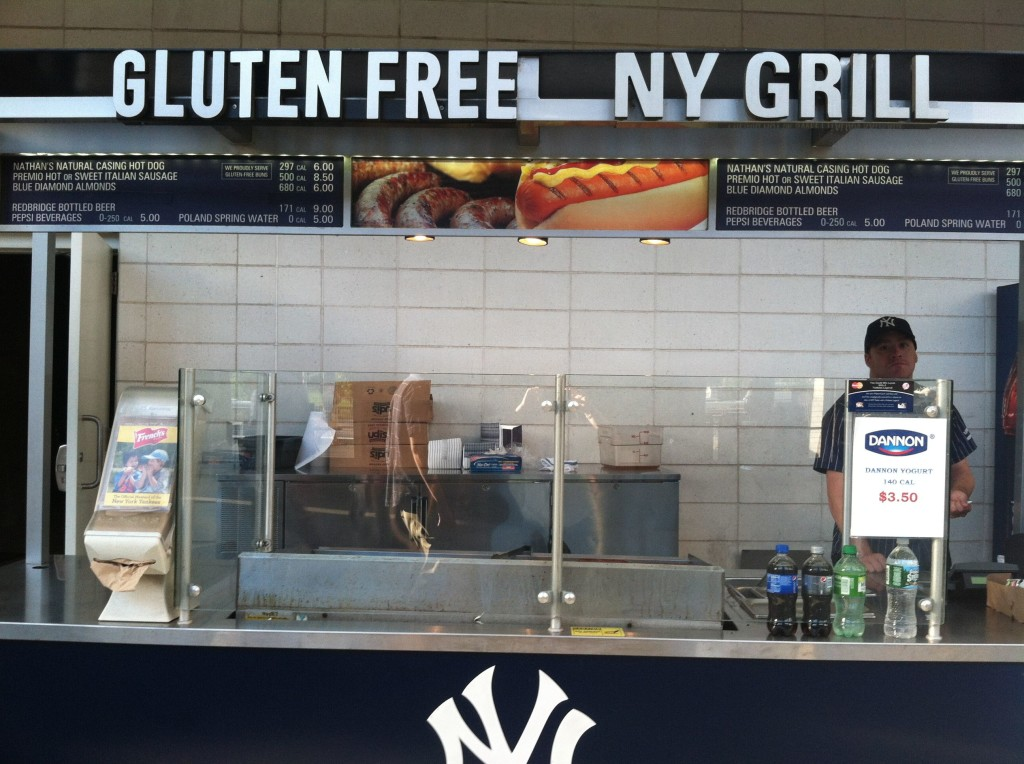 Gluten Free at the Stadium