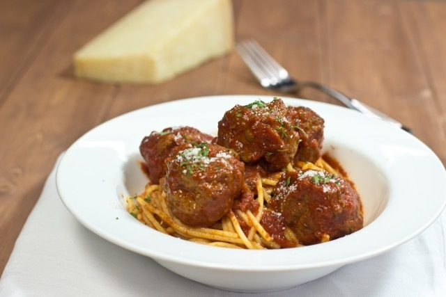 Gluten Free Traditional Meatballs