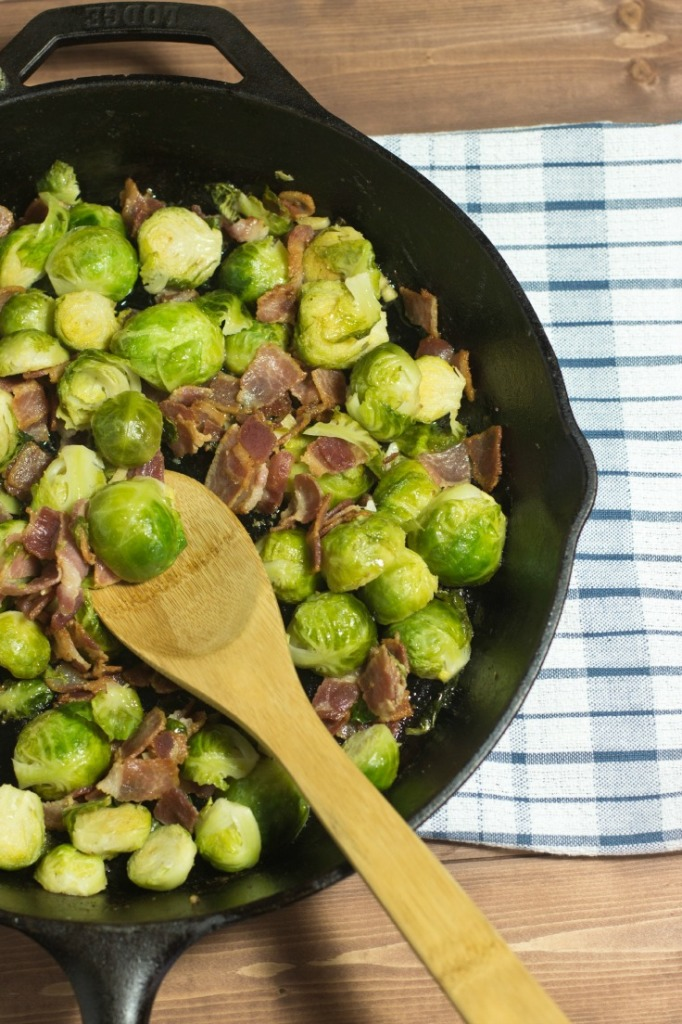 Gluten Free Bacon Brussels Sprouts