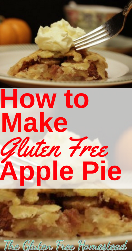 Your family will love this homemade gluten free apple pie. | Delicious easy filling recipe | Best frozen gluten free Kinnikinick pie crust | sugar-free
