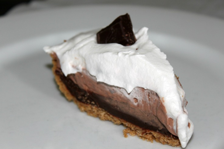 Gluten Free Chocolate Cream Pie with MI-DEL's Graham Style Pie Crust
