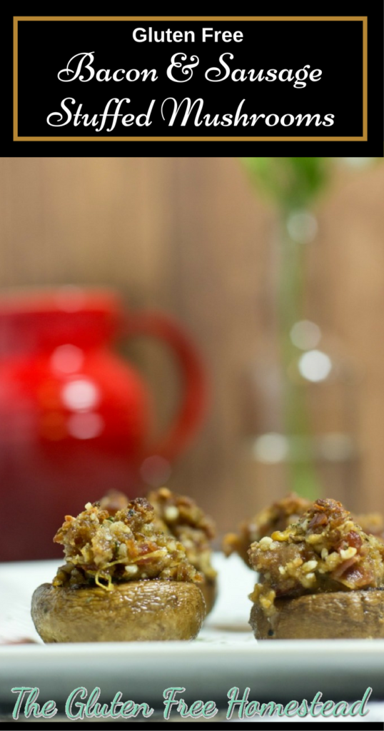 Gluten Free Stuffed Mushrooms | Party Appetizer | Gluten Free Recipe | Paleo Recipe