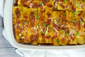 Gluten Free Chicken Enchiladas