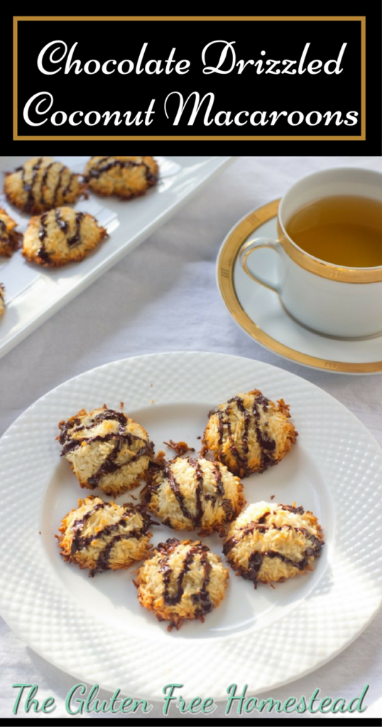Every coconut lovers dream cookie | Guilt-free dessert | How to make delicious cookies | Chocolate Drizzled Coconut Macaroons | Easy coconut macaroons | gluten free recipe | paleo recipe