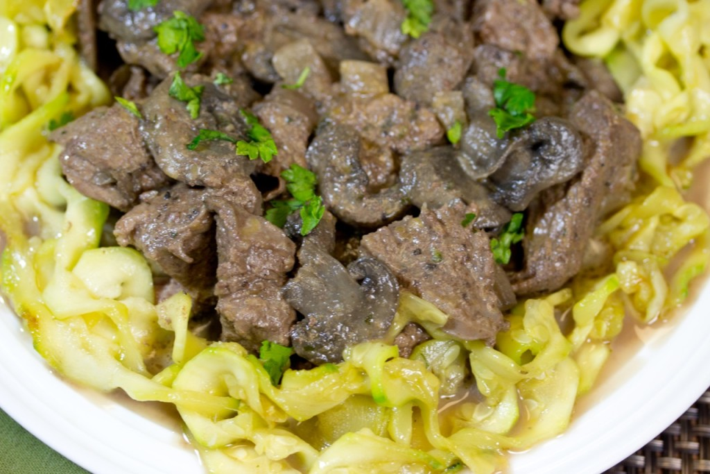 Braised Beef Stroganoff With Pappardelle Recipe — Dishmaps
