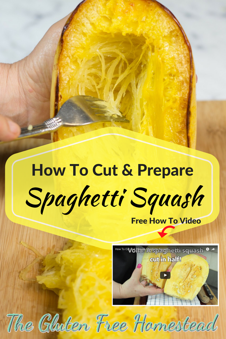 Step by step video, photos, and tips with serving suggestions | gluten free recipe | cooking video | spaghetti squash