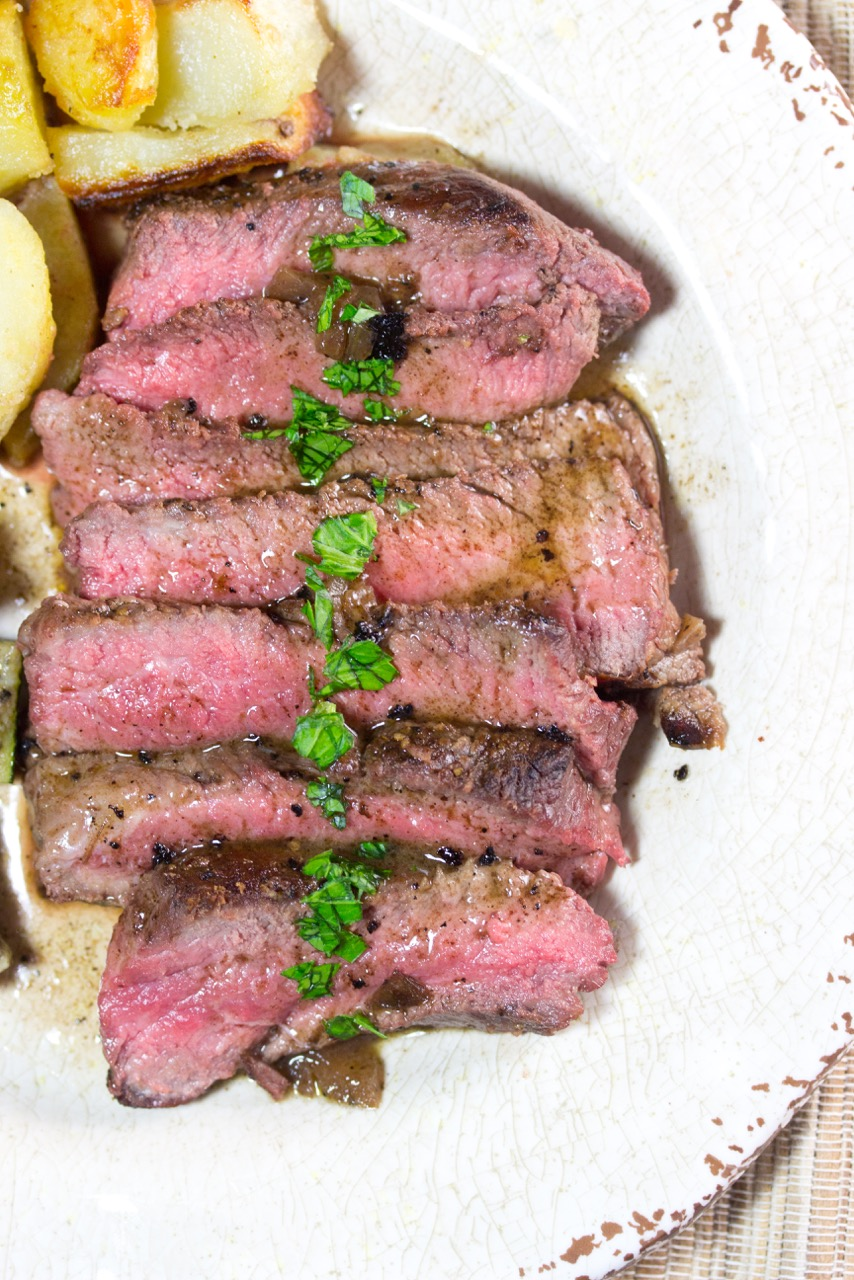 How To, Pan Seared Flat Iron Steak, steak, gluten free, paleo