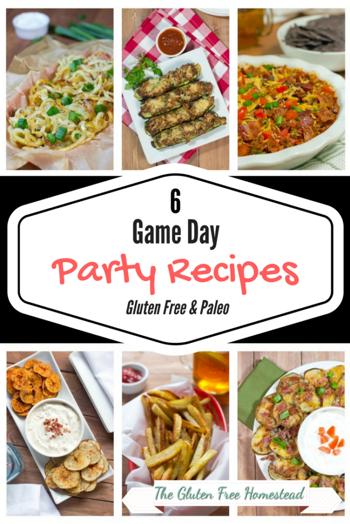 6 Gluten Free Game Day Party Recipes Gluten Free Homestead