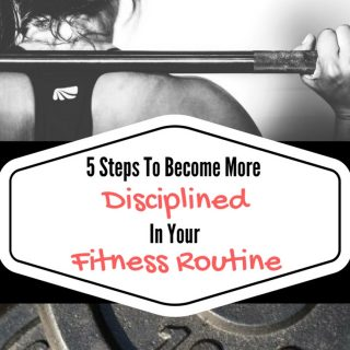 disciplined fitness routine