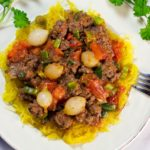 Quick And Easy Beef Ragoût With Tomatoes And Pearl Onions