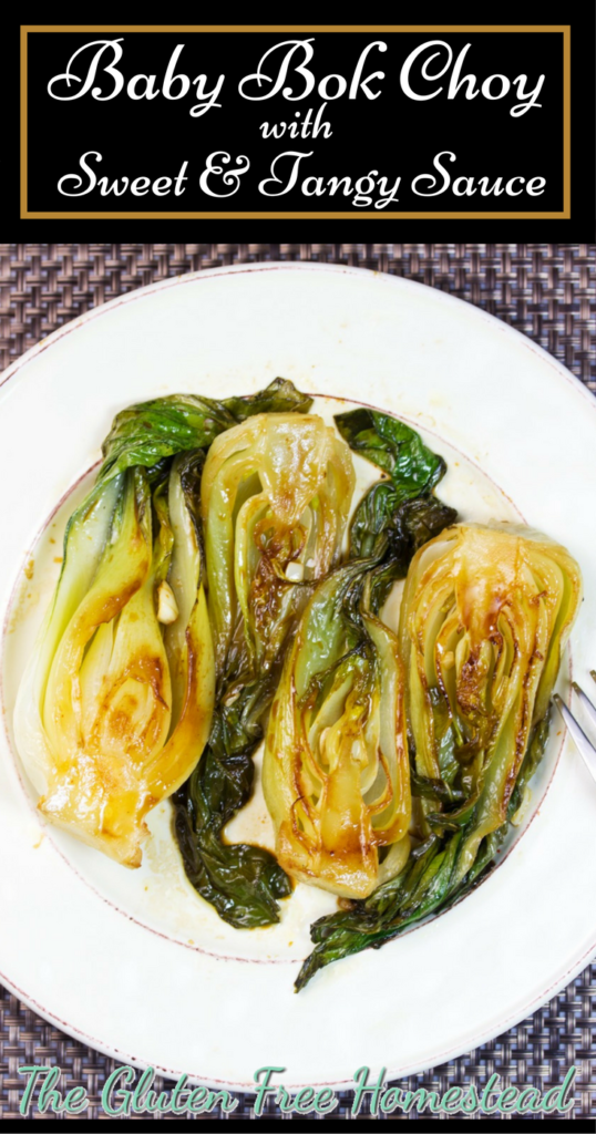 How to cook delicious bok choy | How to cut & prepare bok choy | benefits of high nutrient dense bok choy | sweet tangy sauce | gluten free recipe | paleo recipe | vegan | low carb | whole 30 |