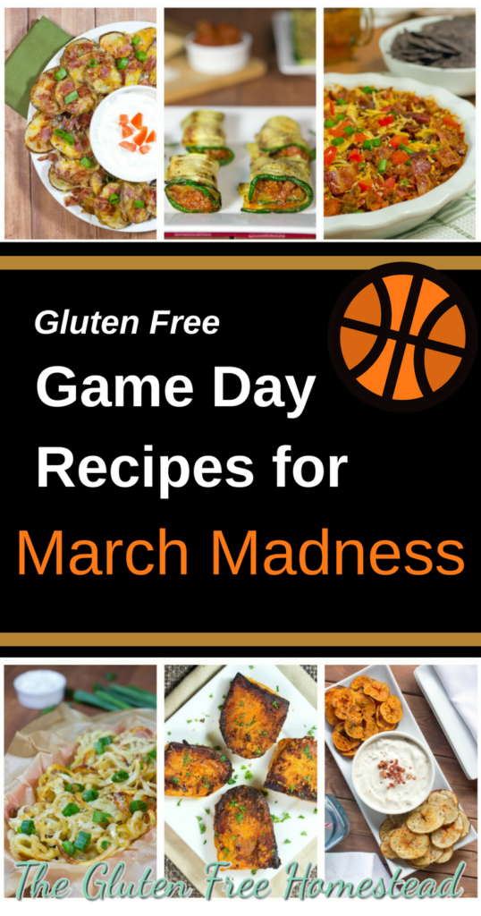 Slam dunk game day treats | March Madness | gluten free appetizers | Basketball party food