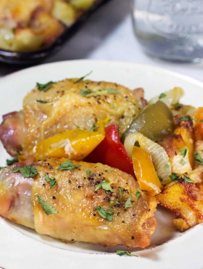 One-Pan Chicken & Pappers