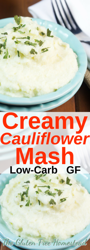 Easy no-fail creamy caulimash | Healthy keto recipe | Best paleo recipe | gluten free recipe | How to make cauliflower mash | Skinny Taste | Thanksgiving side dish | Christmas dinner side dish | Holiday side dish