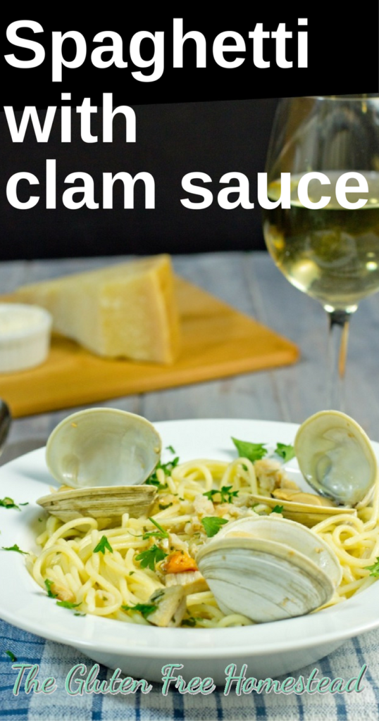 Easy clam sauce recipe | gluten free recipe | healthy