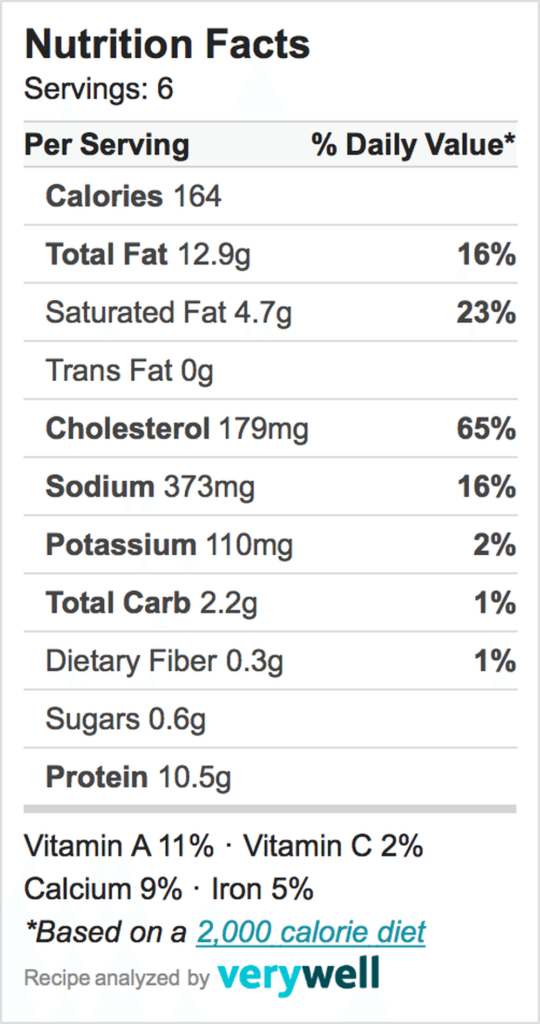 Nutrition-Label-frittata
