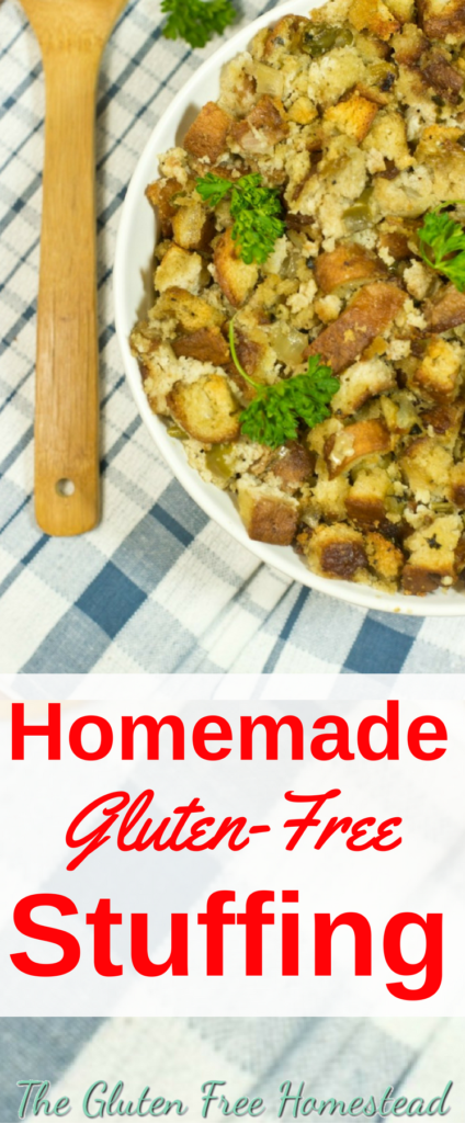 Easy homemade stuffing | Gluten-free Thanksgiving recipe