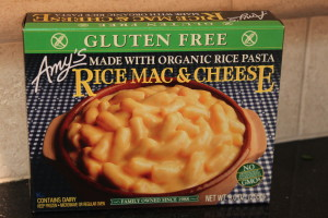 Review: Amy's Frozen Gluten Free Rice Mac & Cheese