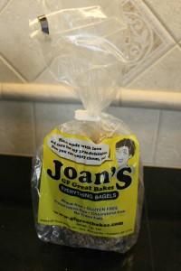 Review: Joan's Frozen Gluten Free Bagels