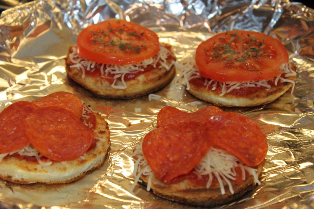 Gluten Free Pizza Muffins