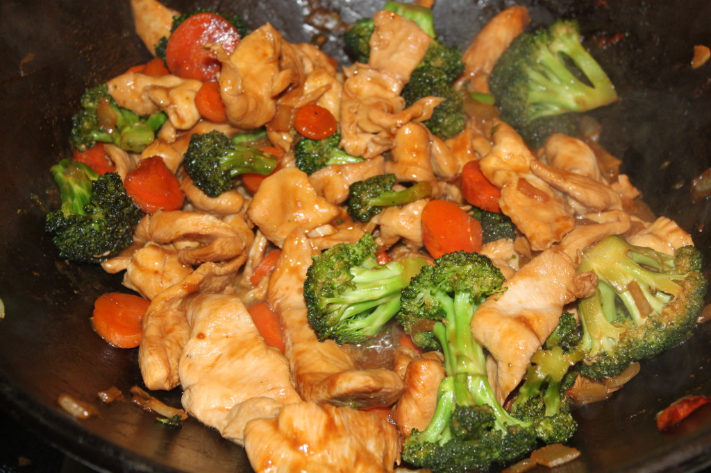 Stir Fry Chicken And A Classic Film