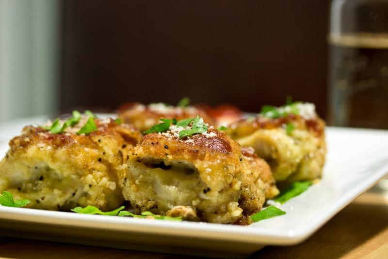 Gluten Free Chicken Rollatini