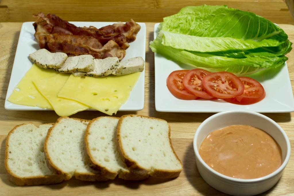 Gluten Free Turkey, Bacon, Swiss Cheese Melt