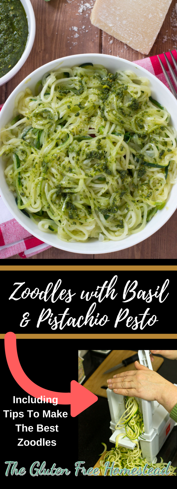 Tips & How to make zoodles | Zucchini Noodles recipe | Spiralizer | delicious spaghetti substitute | Easy pesto sauce recipe | gluten free recipe | paleo recipe | whole 30 | low carb | healthy | skinny taste | pasta substitute