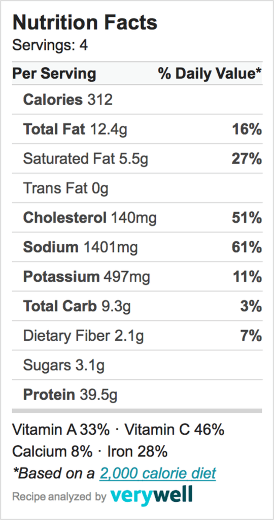 Nutrition-Label-Embed-zoodle soup w: meatballs