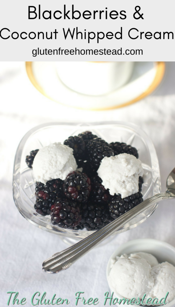 Learn how to make coconut whipped cream | Healthy recipe | paleo dessert | gluten-free | easy | sugar-free | Quick homemade dairy free topping | low carb | berries