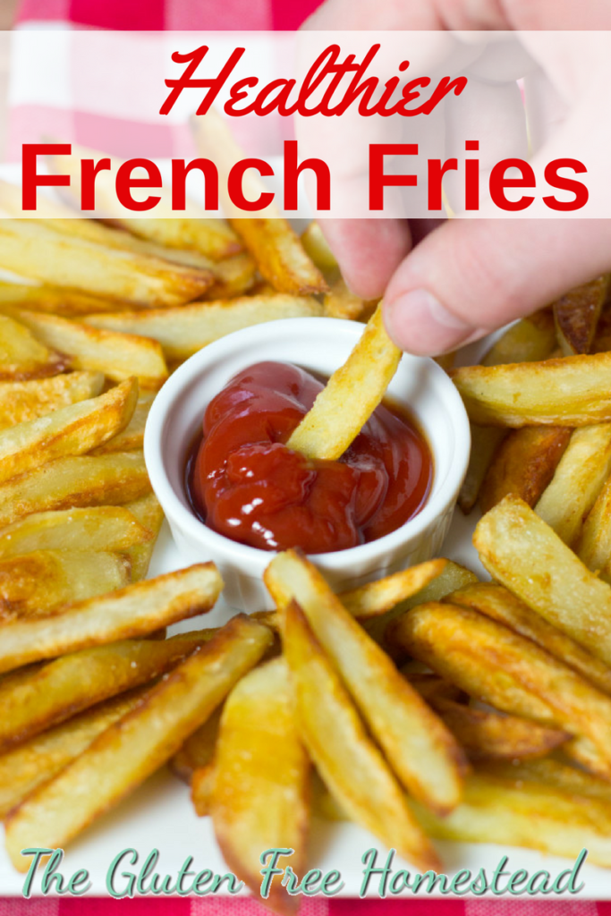 How to Make | Healthy French Fries | Alternative recipe | Clean eating | Gluten free recipe |