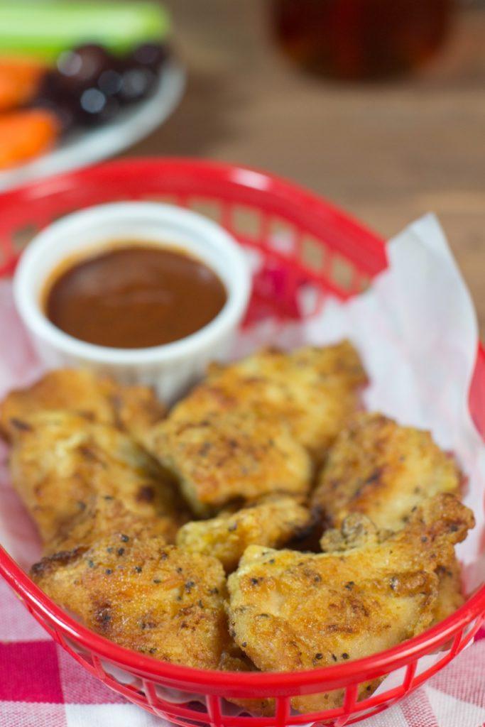 Grainless Crispy Chicken Nuggets