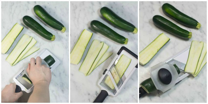 zucchini slicing