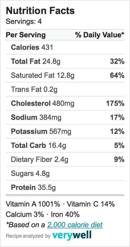 Nutrition-Label-Liver