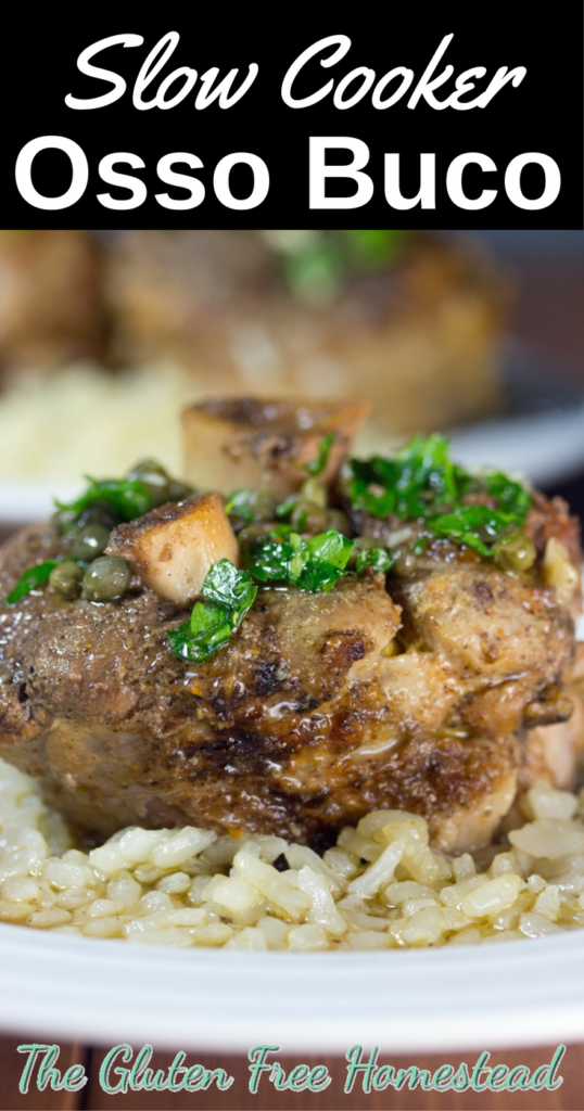Slow Cooker Pork | Osso Buco | Slow cooker recipe | gluten free recipe | paleo recipe | low-carb | Holiday dinner recipe
