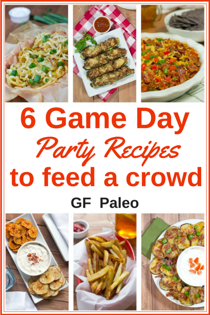 Click on the pin to get the recipes | Best Game Day recipes | Party recipes | Appetizers | Gluten Free recipes | Paleo recipes | Superbowl Party recipes | Football Party Food #gameday