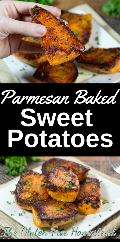 Delicious Holiday Appetizer | Healthy potatoes | Easy sweet potato recipe | parmesan Thanksgiving baked sweet potatoes | gluten free recipe | paleo recipe |