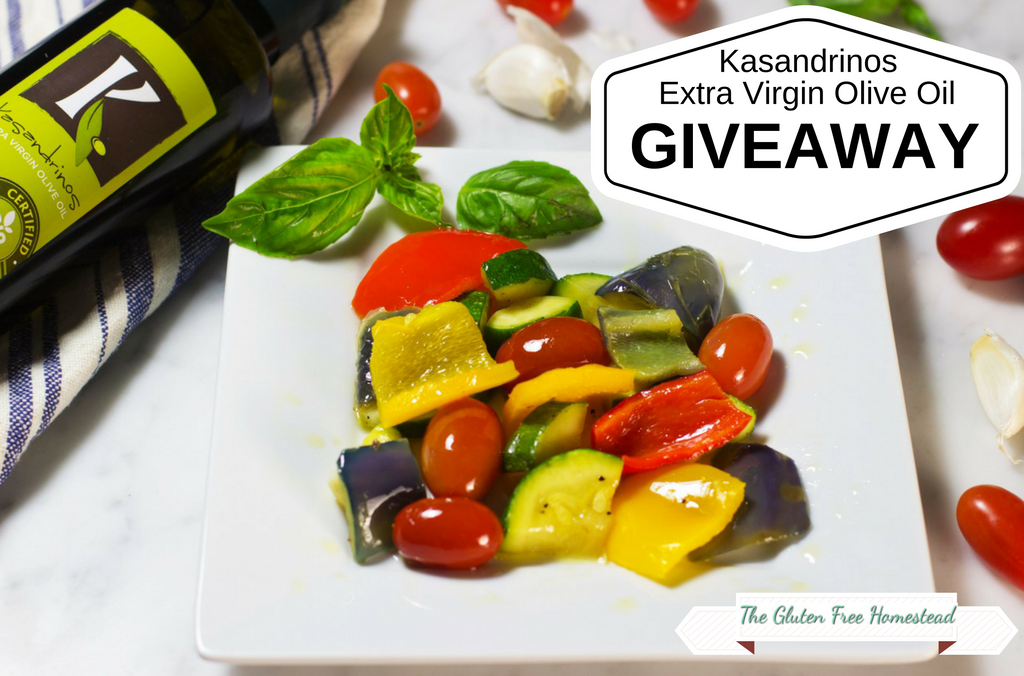 KASANDRINOS ORGANIC EXTRA VIRGIN OLIVE OIL GIVEAWAY
