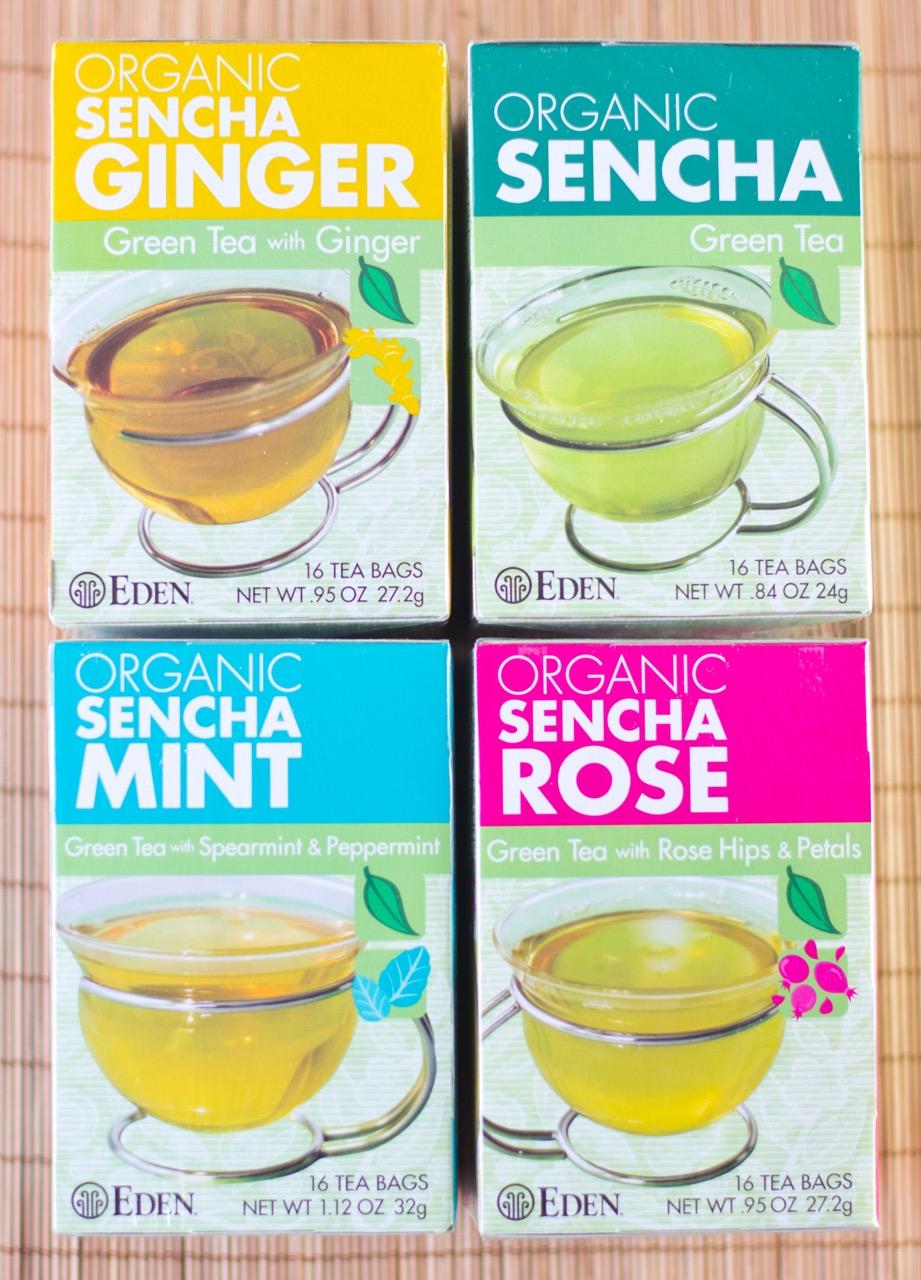 Sent green tea giveaway