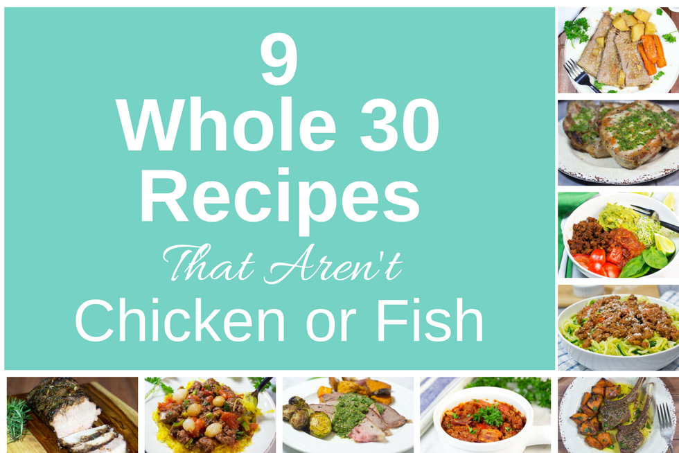 9 whole 30 recipes that arent chicken or fish gluten free homestead 9 whole 30 recipes that arent chicken or fish forumfinder Image collections