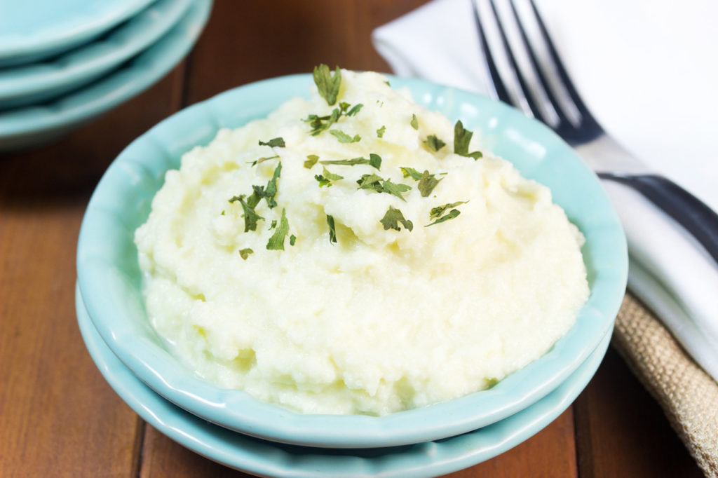 Delicious Low-Carb Mashed Cauliflower