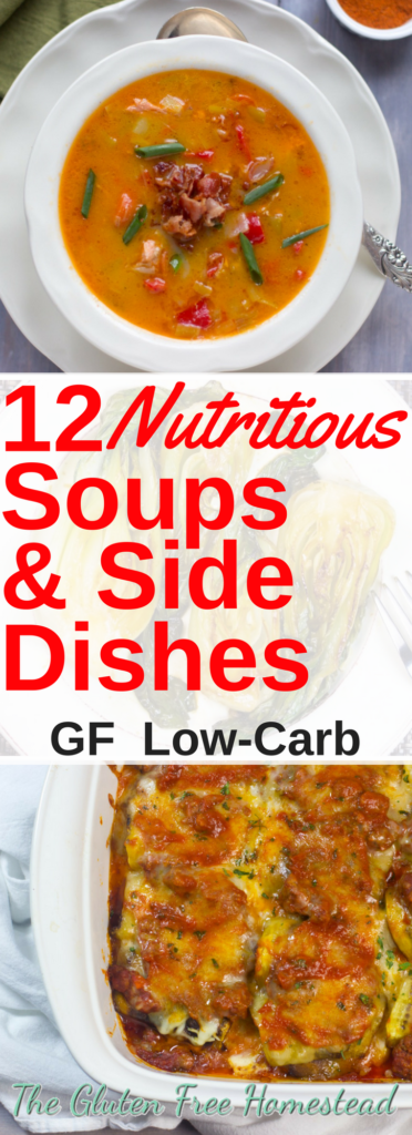 The best nutritious soups and side dishes | Gluten-free recipes | Low-Carb recipes | Keto | Holiday recipes | Thanksgiving recipes | Christmas recipes | Hanukkah |